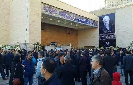 مراسم بزرگداشت آیت الله هاشمی رفسنجانی در دانشگاه آزاد آغاز شد