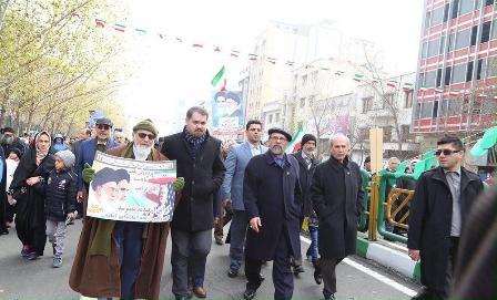 رییس دانشگاه آزاد: مردم پای انقلاب اسلامی ایستاده اند